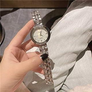 ساعات نسائية - ساعات نسائية عصرية ذهبية للسيدات من الماس PC سوار كوارتز لفتاة جديدة ساعة كوارتز أنيقة Zegarki Meskie A190...