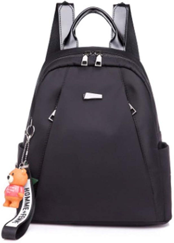 Women's Shoulder Diagonal Tote Backpack female new wild simple bag female canvas small bag backpack Daypack