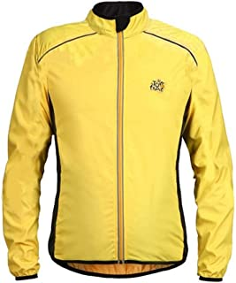 Cycling Skin Suit Outdoor Sports Long-sleeved Shirt Jacket Thin Section Splash-proof Windbreaker Moisture Wicking Jersey