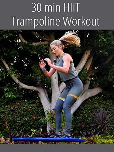 30 min HIIT Trampoline Workout