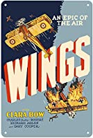 Wings An Epic Of The Air ティンサイン ポスター ン サイン プレート ブリキ看板 ホーム バーために
