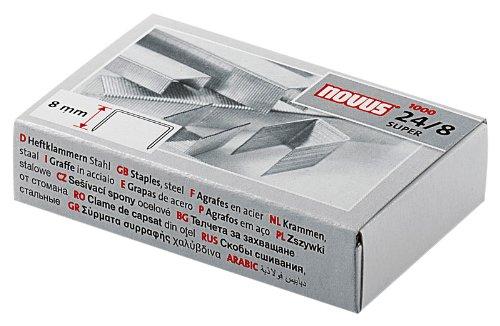Novus 24/8 Super Staples (Box of 1000)
