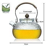 IMG-2 teiera vetro acciaio infusore filtro