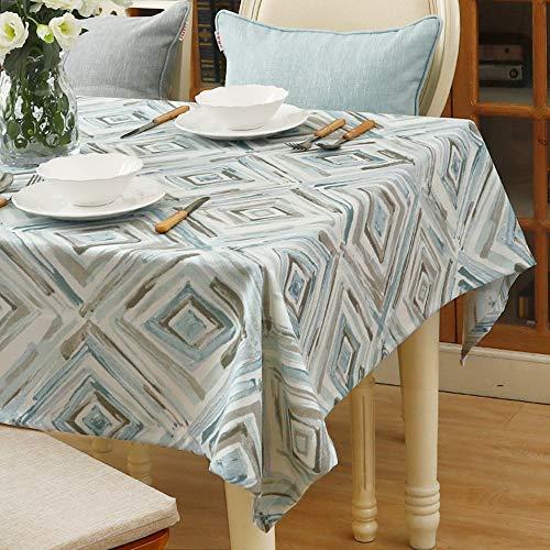 LH Zhenzhi Tischdecken American Print Pastoral-Safe-esstisch Hyundai 60 * 60cm Impression Rexel (Wrapping)