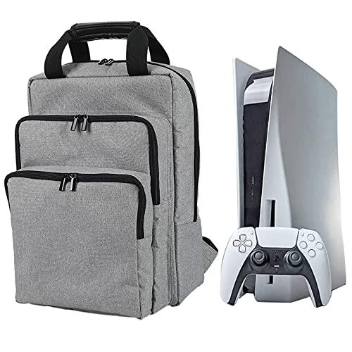 Estuche de viaje Compatible con Consola de juegos PS5 y accesorios, Organizador...