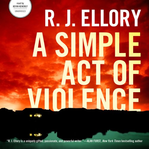 A Simple Act of Violence audiobook cover art
