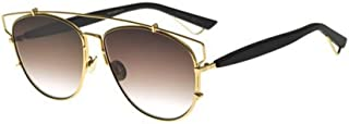 Christian Dior Technologic RHL86 Gold Black/Brown Gradient Sunglasses