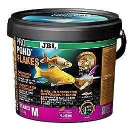 JBL Nourriture poissons De bassin, Flocons Alimentaires Flottants, Nourriture Vitalité, ProPond Flakes, 0,72 kg