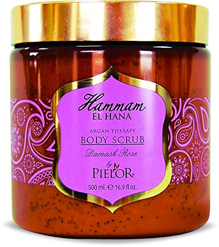 Argan Therpay Exfoliant à la rose de Damas Pour le Corps Lot de 1 (1 x 500 ml)