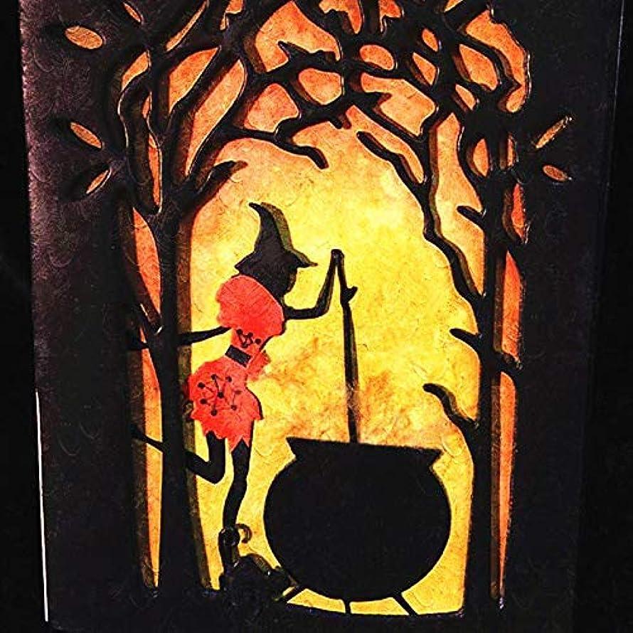 Halloween Cutting Dies Witch Pumpkin Die-Cut for Card Making Scrapbooking Photo Album (Halloween)