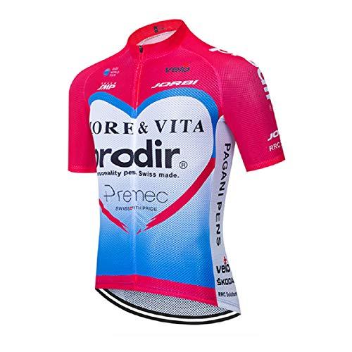 Maillot Ciclismo Hombre Camiseta Ciclismo Manga Corta Maillot MTB Serie de línea