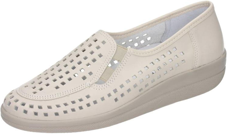Comfortabel Womens Slipper, Sand, Leder, 941637-81