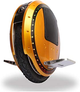 LJHHH Electric Unicycle,Intelligent Balance Drift Car Thinking Somatosensory Scooter,Children Adult Car Outdoor Sports Fitness Exercise