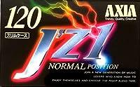 AXIA カセットテープ J'z1 120分 ダブルコーティング & スリムケース JZ1B 120