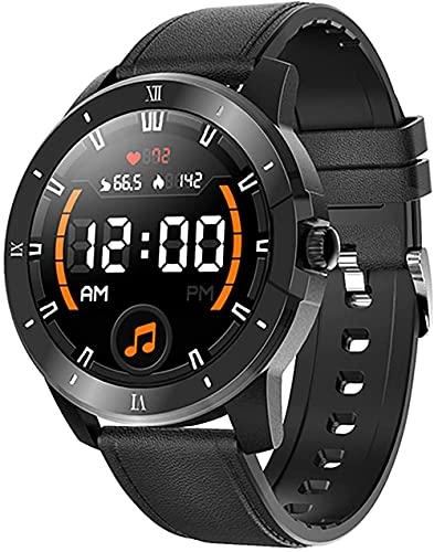 Reloj inteligente para hombre, IP68 impermeable J salud monitoreo actividad tracker, pulsera deportiva inteligente con reproductor de música, llamada Bluetooth