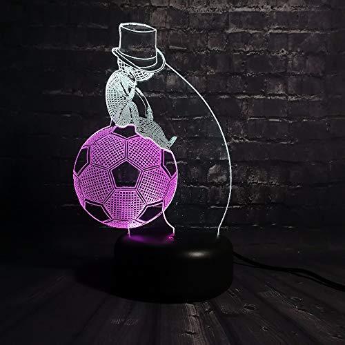3D Illusion Nachtlicht 3D Lampe Sport Roller Schuhe Tischleuchte Licht Mischfarbe Stimmung Multi Farbe Blei Kind Geschenke Usb Kinder Kinder Kinder Spielzeug Weihnachtsgeschenke