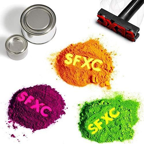 Farbwechsel Thermochromisch Pigment Probepackung–Farbe zu Farbe