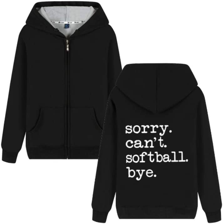 Gjhjhgeow Outerwear Sorry Can't Softball Letter Printing Pullover Fashionable Men (Color : B02, Size : Small)