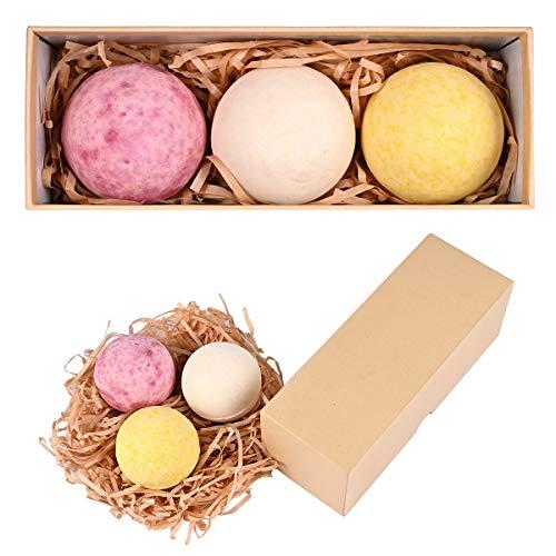 Nabance Badebomben Geschenkset 3 Stk Badekugeln aromatisches Badekugeln für feuchtigkeitsspendende Geschenk für Frauen Freundin Mutter Geburtstags Geschenk Weihnachts geschenke