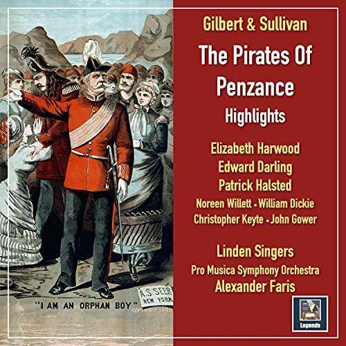 Elizabeth Harwood, Edward Darling, Patrick Halsted, Pro Musica Symphony Orchestra & Alexander Faris