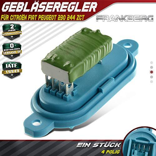 Gebläseregler Widerstand Gebläsemotor für Jumper Ducato Boxer 230 244 1994-2006 1306600080