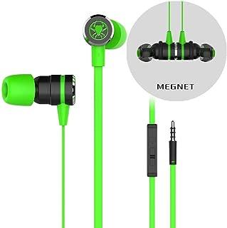 Livoty Plextone G20 Magnet Attraction Sport In-Ear Earbuds Heaphone Headset one size Green