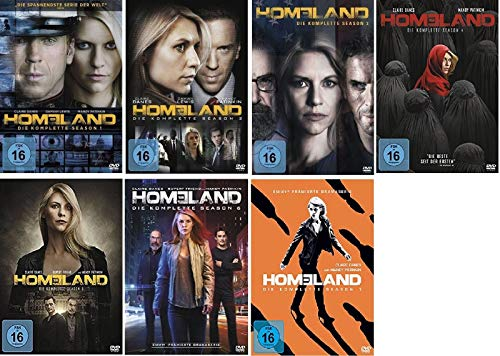 Homeland Staffel 1-7 (1+2+3+4+5+6+7) [DVD Set]