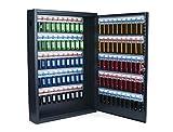 Pavo 8047222 Caja para llaves de alta seguridad (capacidad para hasta 100 unidades) gris...