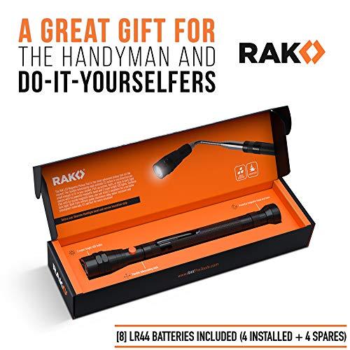 Product Image 2: RAK Magnetic Pickup Tool with LED Lights – Telescoping Magnet Pick Up Gadget Tool for Men, DIY Handyman, Father/Dad, Husband, Boyfriend, Him, Women