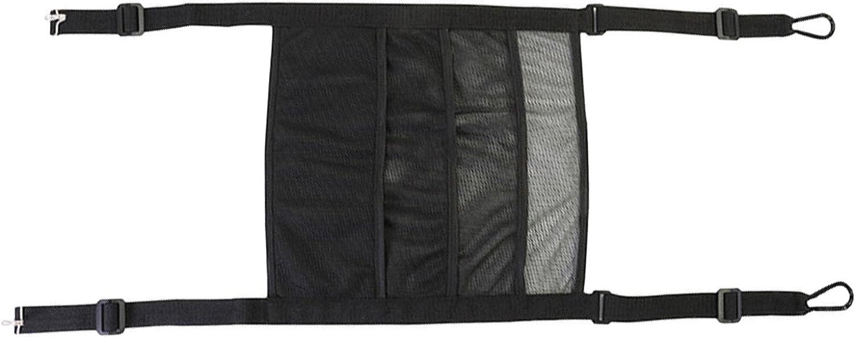 Poiuqew Driver Storage Regular discount Netting Bag Safe O Seat Vehicle Back Mesh Detroit Mall