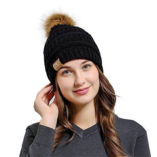 TEBAISE Strickmütze Wärmer Häkelarbeithut Wollmütze Beanie Ski Hüte Mützen Unisex Hüte Hut Mützen Sturmhauben Strickmützen Baseball Caps