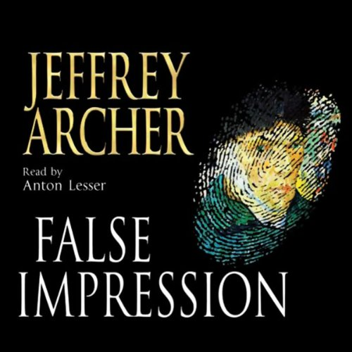 False Impression audiobook cover art