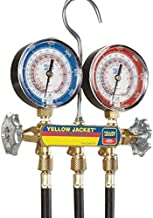 YELLOW JACKET 42044 Heat Pump Manifold with 3 Plus Ii Hoses