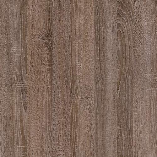 Möbelfolie 7,10€/m² d-c-fix Holzfolie Sonoma Eiche trüffel 90cm Breite Laufmeterware selbstklebende Klebefolie Folie Holz Dekor