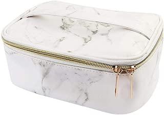 Crazy-store Marble Zipper Makeup Brush Cosmetic Pens Storage Organizer Bag for Adult Making up Makeup Bag