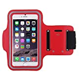 Shot Case Sports Armband/Case for Wiko Freddy Red