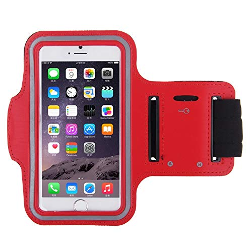 Shot Case Brazalete Deportivo/Funda para Honor 8 Rojo