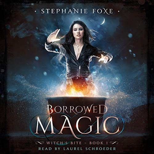 Borrowed Magic: An Urban Fantasy Novel audiobook cover art