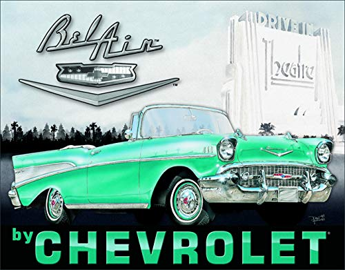 Desperate Enterprises Metal Sign Chevrolet Bel Air - Balón de ...
