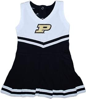 Creative Knitwear Purdue University Boilermakers Baby and Toddler Cheerleader Bodysuit Dress