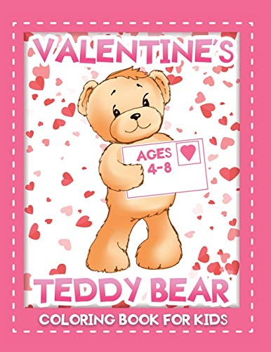 Compare Textbook Prices for valentine's teddy bear coloring book for kids: An Easy Valentine Coloring Book of Love Easy Coloring Books For Kids  ISBN 9798593307088 by Kid Press, Jane
