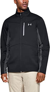 Under Armour Mens ColdGear Infrared Shield Jacket, XL (Black/Graphite)