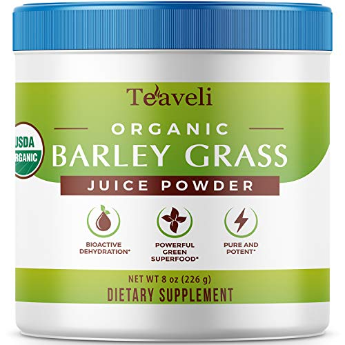 Premium Organic Barley Grass Juice Powder– 8 Ounces (226g) of Delicious Barley Grass Juice Extract, &...