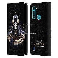 Head Case Designs オフィシャル ライセンス商品 Assassin's Creed Hetepi Origins キャラクターアート Motorola Moto G8 Power Lite 専用レザーブックウォレット カバーケース