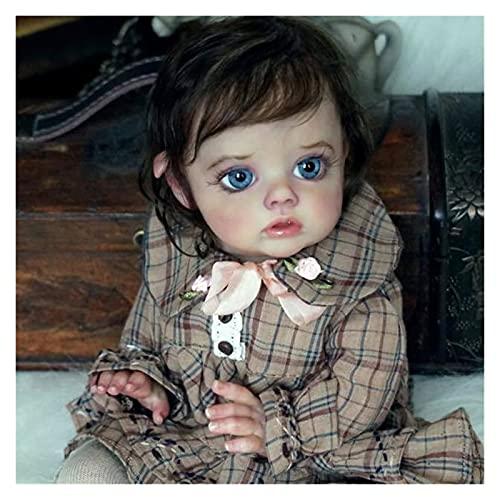 Bebe Reborn Kit Reborn Baby Vinyl Kit 12 Pulgadas FLO Mini Elf Piezas de muñeca sin Pintar sin Pintar DIY Kit de muñecas Reborn Reborn DIY