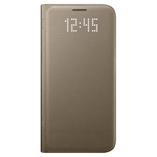 Samsung LED View Cover Hülle EF-NG930 für Galaxy S7, gold
