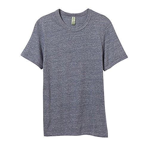 Alternative T-Shirt à Manches Courtes en éco-Jersey pour Homme M Bleu Marine