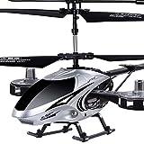 Ycco Control Remoto Avión 4.5 Canales Incorporado Gyro Anti-colisión RC Drone Toy para niños Adolescentes Niños Helicóptero Canales Interiores Pasatiempo Mini Flying Blades Reemplace Incluido