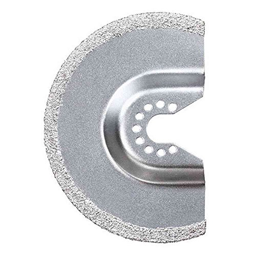 Stanley FatMax Hartmetall-Mörtelraspel (Körnung 60, Durchmesser 92 mm, 3 mm, HM-Beschichtung, für Fugen, Fiberglass, Kunststoffe, uvm.) STA26125