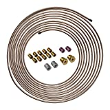 4LIFETIMELINES 25 ft 3/16 Copper-Nickel Alloy Brake Line Replacement...